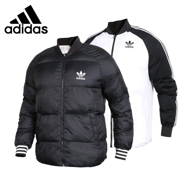 05b2a48db3da Original New Arrival Adidas Originals SST JACKET Men s Reversible Down coat  Hiking Down Sportswear