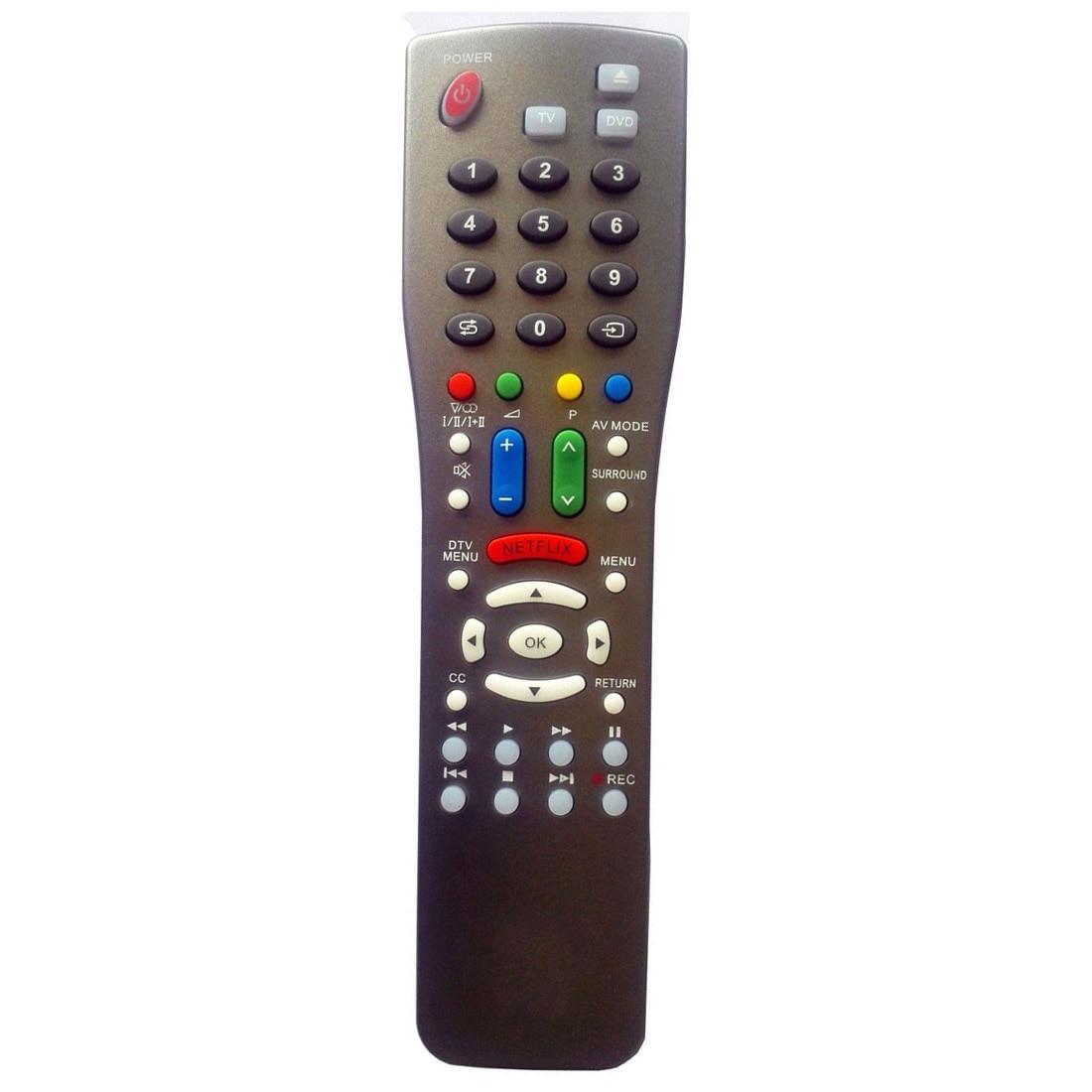 Новый для Sharp ТВ Blu-Ray DVD проигрыватели Universal Remote Программирование не требуется