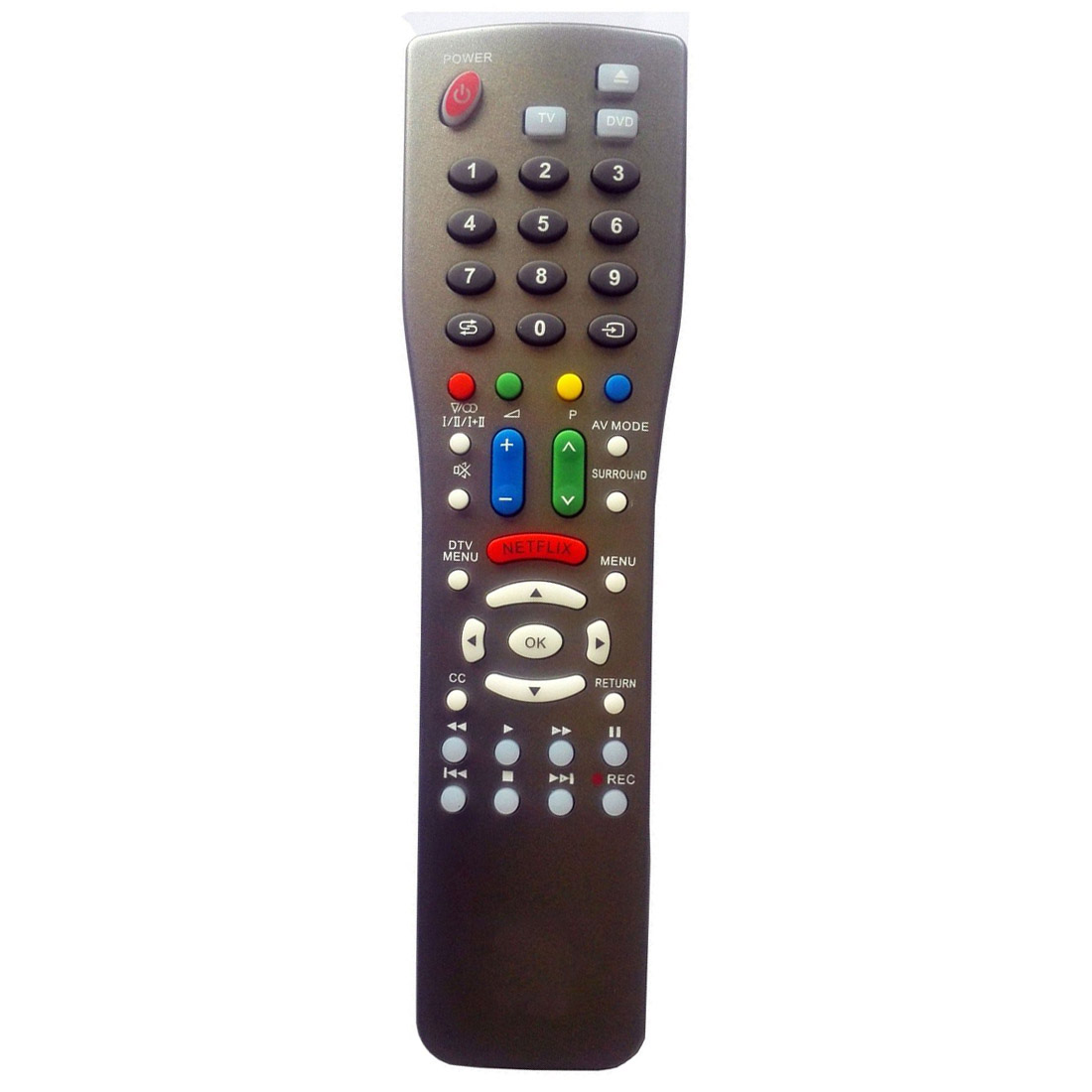 NEW for SHARP TV Blu-ray DVD player Universal Remote NO programming Needed original smart intelligent remote control ak59 00172a universal for dvd blu ray player bd f5700 for samsung