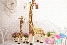 lovely giraffe toy cute plush giraffe toy stuff creative giraffe doll gift doll about 75cm