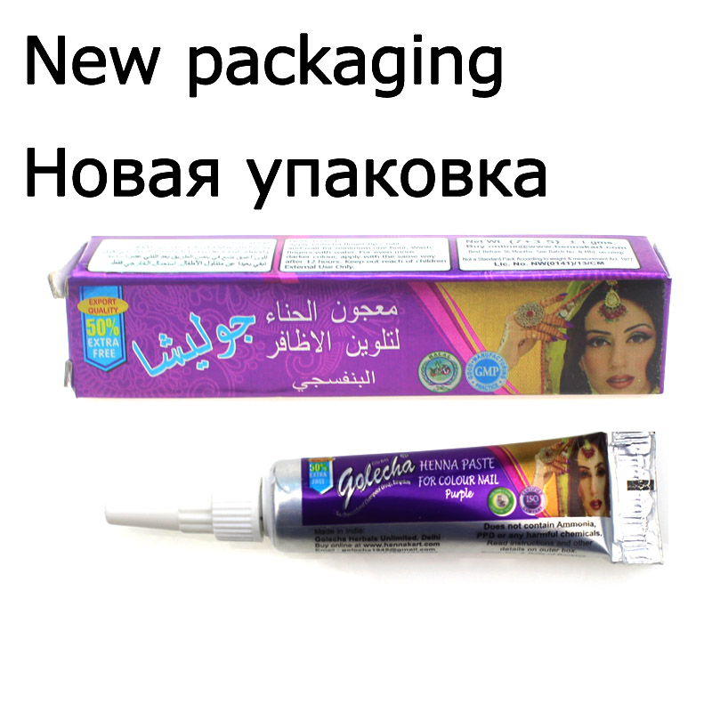 Image 2 - 1 Piece Indian GOLECHA Henna Paste Body Art,Mehndi Colored Henna 