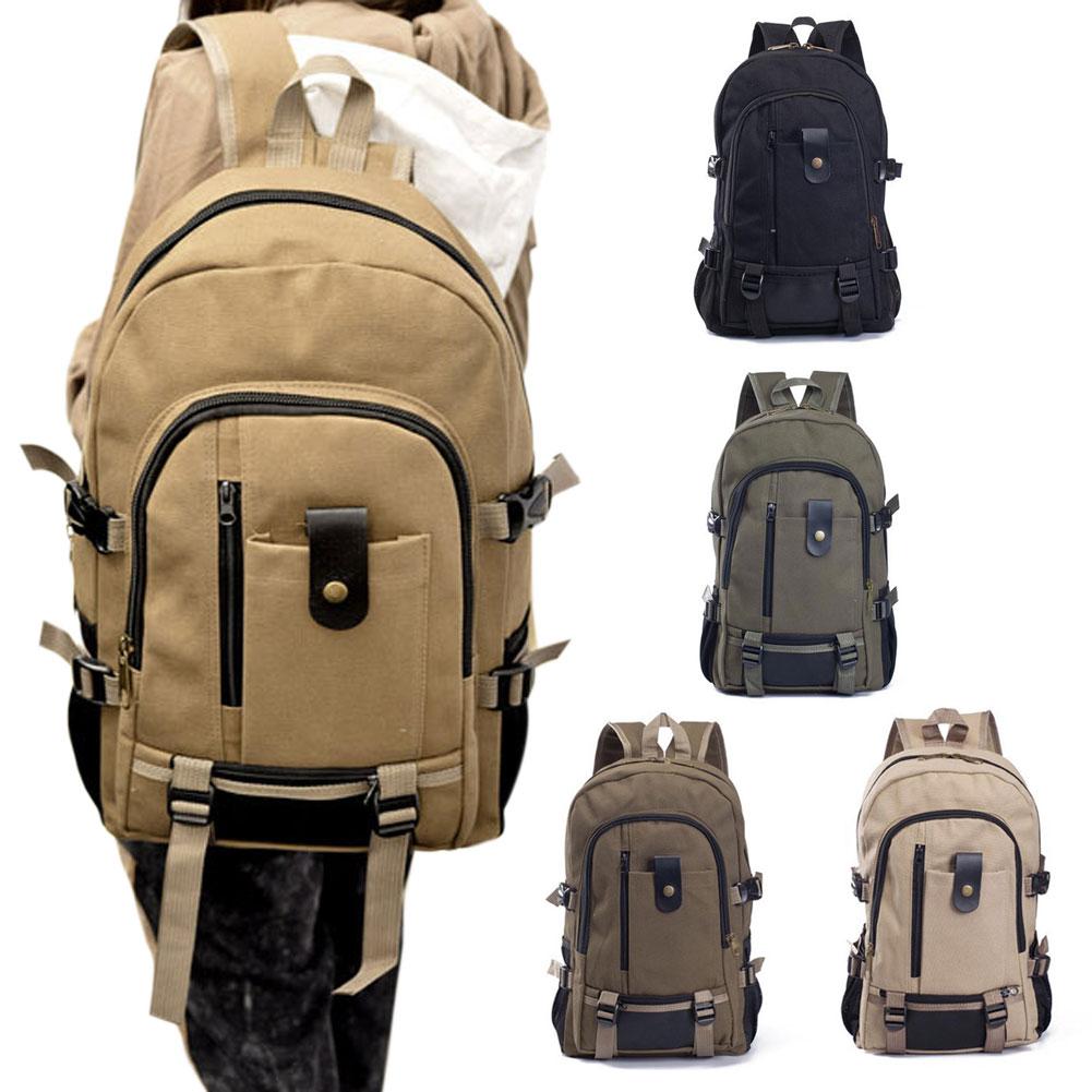 Canvas Men s Backpacks Men Travel Bags Vintage Style Design School Casual Backpack