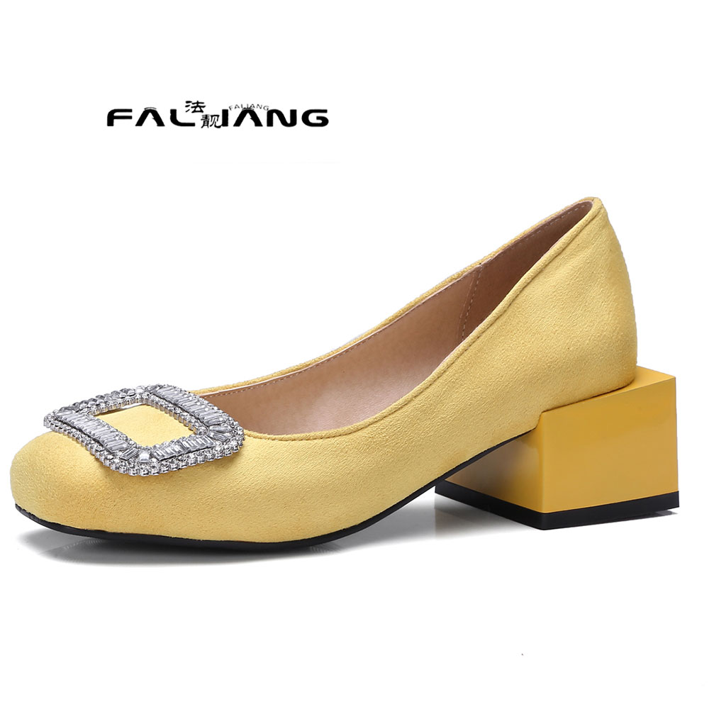 ФОТО  Big Size 11 12 13 14 15 16 17   The basic models The shallow mouth  women's shoes high heels pumps woman for women