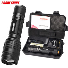 Waterproof Cycling Bicycle Bike Front Head Light X800 Shadowhawk 6000LM Tactical Flashlight L2 LED Military Torch Gift Kit
