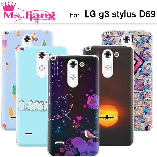 info for b4bf0 88ed8 US $10.98 |Transparent Side Flexible Hard Back Cover Case For lg g3 stylus  Phone Cases For lg g3 stylus d690 Cover-in Half-wrapped Case from ...