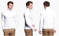 новинка 2017 года для мужчин модная футболка футболки тонкий новинка; футболки стрейч футболка водолазка длинные рукава размер 6 coloros хлопок футболки для девочек бесплатная доставка