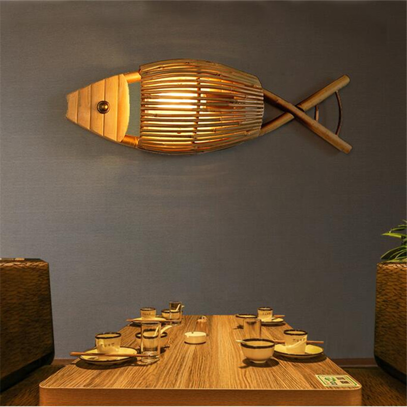 Lampada Creativa Sud Est Asiatico Caratteristiche Stile Tailandese Lampada Di Bambu Lampada Da Tavolo Lampada Da