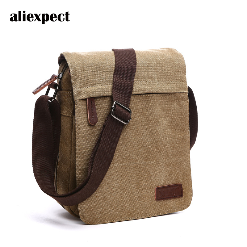 Leisure Shoulder Bag Simple Youth New Fashion Messenger Thickening Canvas Bag Male Cross-bag Vertical Section waterproof business messenger bag cross section preppy style flap bag vertical section contracted joker men crossbody bag 0182