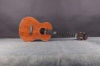 Enya K5 укулеле 5A Tiger Stripe КоА ukelele 26 23 Гавайи Гитара 4 строка мини гитара Музыкальные инструменты профессионалов