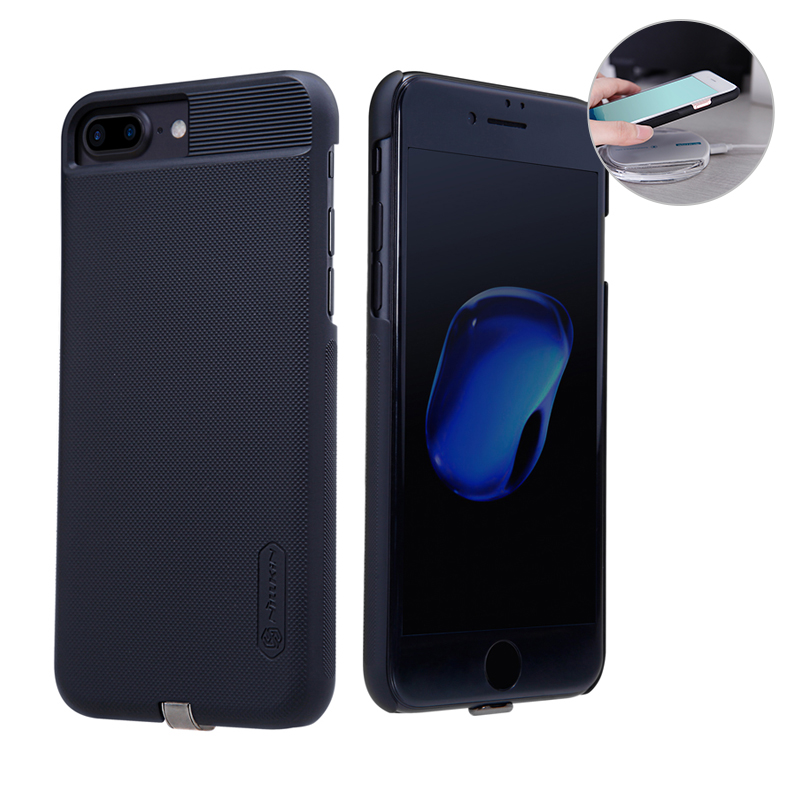 buy online ab0f1 04708 US $17.19 |Nillkin for iphone7 plus Qi Wireless Charger Receiver Case Cover  Power Charging Transmitter For iphone 7 plus case 5.5 inch-in Wireless ...
