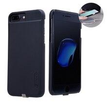 Nillkin iphone 7 プラスチーワイヤレス充電器受信機ケースカバー電源充電トランスミッタ iphone 7 plus ケース 5.5 インチ