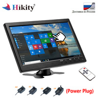 Hikity 10.1 TFT LCD HD Monitor & PC Display Color Screen 2 Channel Video Input Security Car Monitor With BNC / AVI / VGA / HDMI
