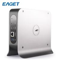 EAGET 3.inch 1 BAY Smart Network Cloud Storage Mobile Hard Disk Box SATA USB3.0 Encryption Private Cloud Disk Network hard Y300
