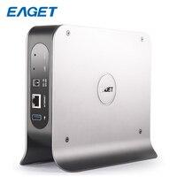 EAGET 3. inch 1 BAY Smart Network Cloud Storage Мобильный жесткий диск окно SATA USB3.0 Шифрование частное облако сетевой диск жесткий y300