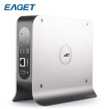 EAGET 3.inch 1-BAY Smart Network Cloud Storage Mobile Hard Disk Box SATA USB3.0 Encryption Private Cloud Disk Network hard Y300
