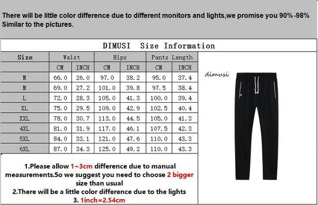 DIMUSI Mens Joggers Casual Pants Fitness Men Sportswear Tracksuit Bottoms Skinny Sweatpants Trousers Gyms Jogger Track Pants 6XL 6