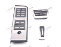 FOR AUDI A4 A5 B9 8W LHD Stainless Steel Automatic AT MT Pedal