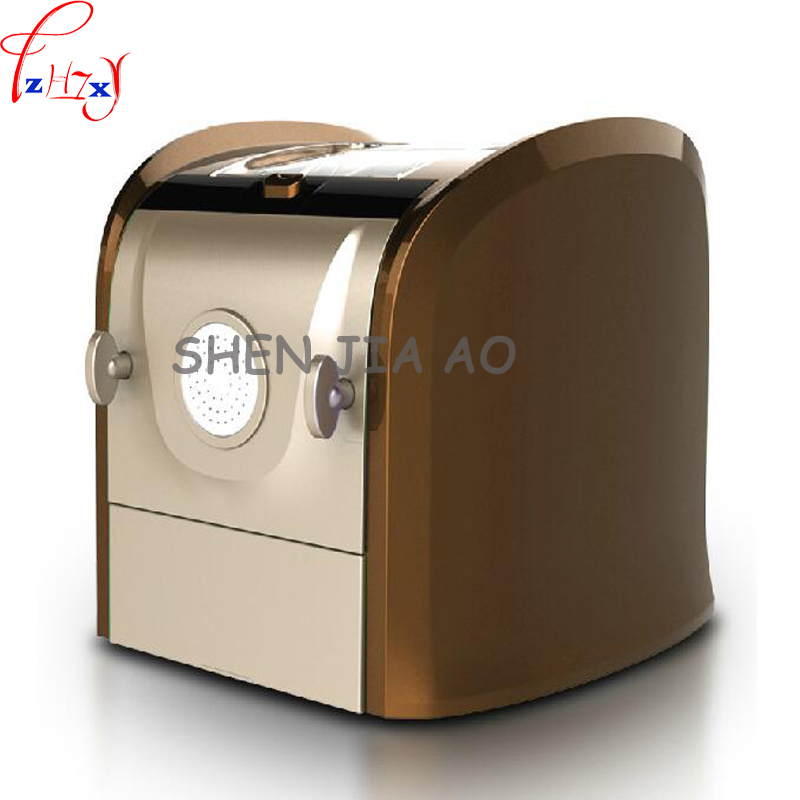 1pc 220V Home noodle machine automatic and noodle rolling surface pressing machine stainless steel noodle machine 1pc household mini pasta machine manual metal spaetzle makers pressing machine pole head mingled split noodle tools