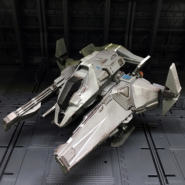 JOYTOY Acid Rain 1 27 3D Pazzle Military DOUBLE FORK HALBERD Model Block Toys Collection Action