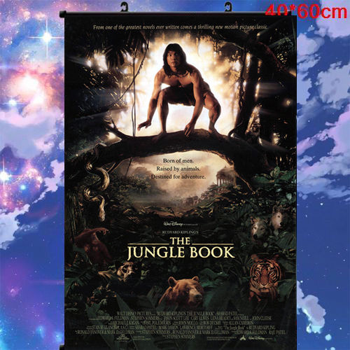 Wall Scroll THE JUNGLE BOOK Art Print Japan Anime Poster 60*80cm