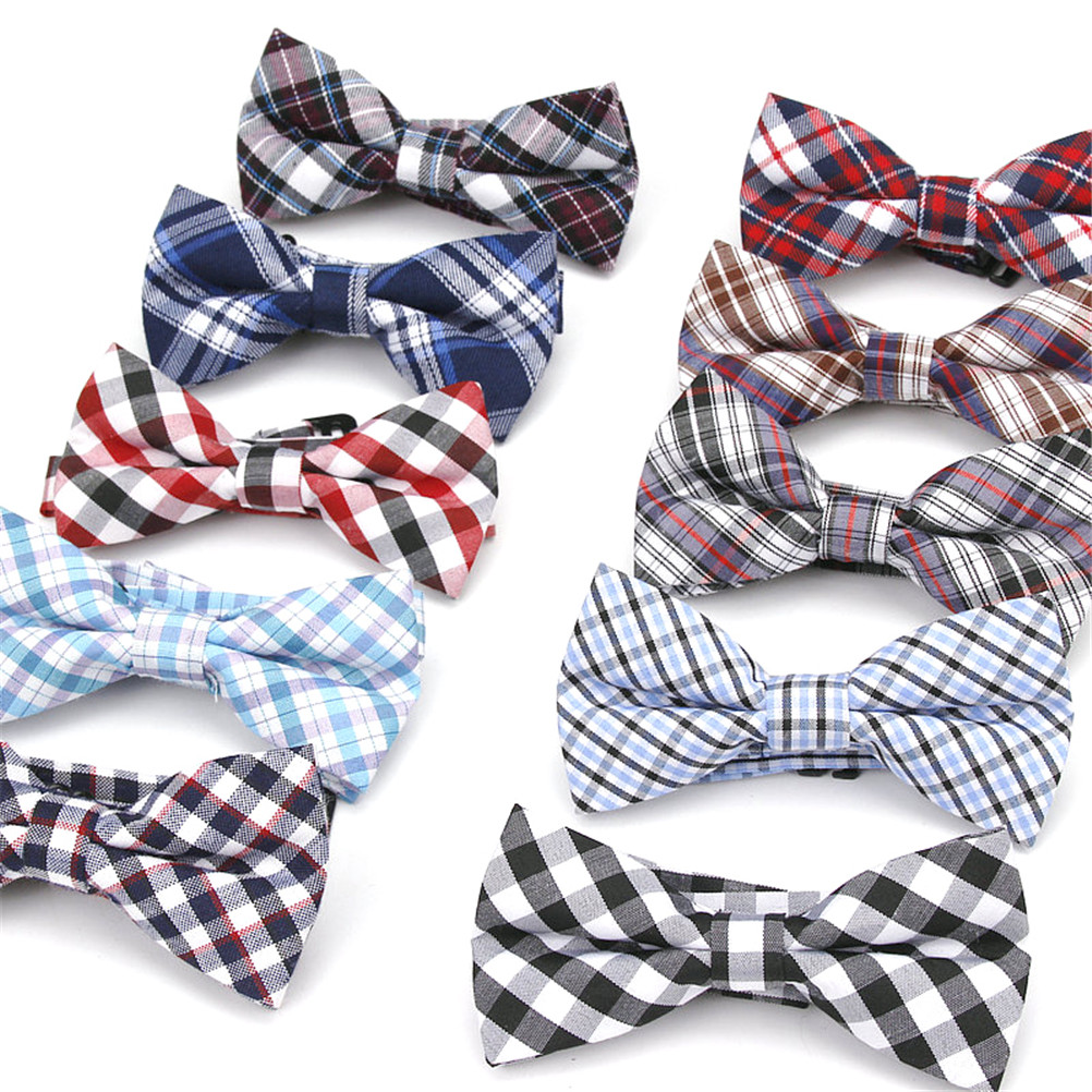 Apparel Accessories Ambitious Children Kids Mini Bowtie Dot Stripe Plaids Boy/girl Baby Birthday Party Bowknot Neck Tie Accessories Photography Props