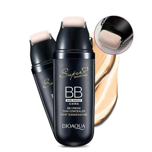Magic Roller Foundation Air Cushion BB Cream Concealer Moisturizing Foundation Makeup Bare Whitening Face Beauty Makeup Cosmetic