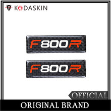 KODASKIN Motorcycle 3D Carbon Timing Belt Cover Front and Rear Round Decal for BMW F800R
