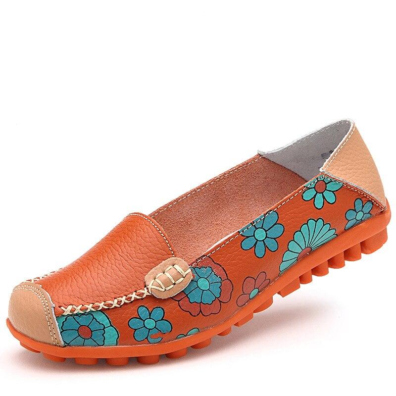 Zapatos de La Madre 2017 Del Verano Nueva Moda de Color Sólido Zapatos Planos de