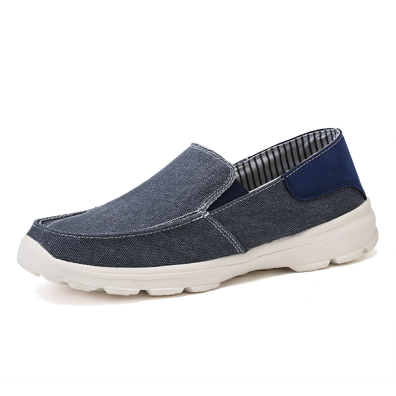 Canvas Shoes Men Breathable Casual Shoes Men Loafers Soft Comfortable Outdoor Flat Lazy Shoes for Male Chaussure Homme Sorrynam in Men 39 s Casual Shoes from Shoes