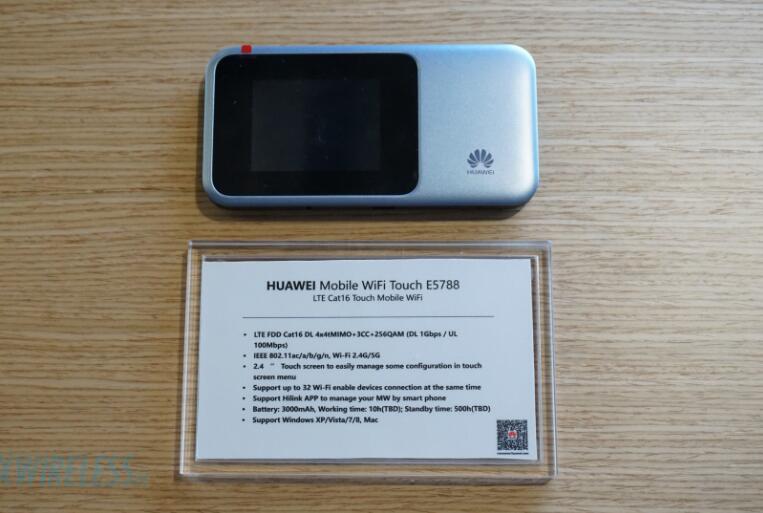 Débloqué Huawei E5788 4G 4G + 5G sans fil routeur CA-LTE: B1/B3/B4/B5/B7/B8/B19/B20/B28/B38/B40/B41/B42 Cat16 1 Gbmps MiFi Modem