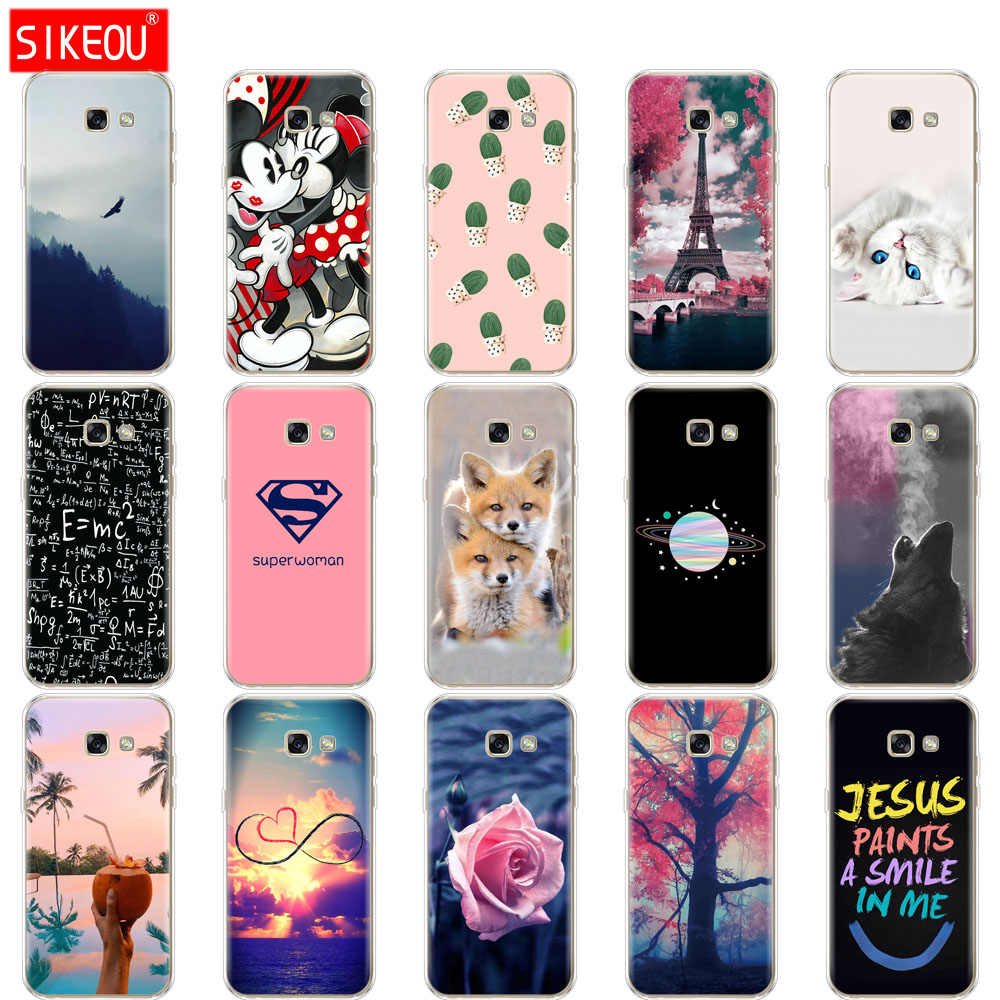 silicone For Samsung A5 2017 Case Soft TPU Phone Case for Samsung Galaxy A 5 2017 SM-A520F Cover Coque Funda Skin shockproof