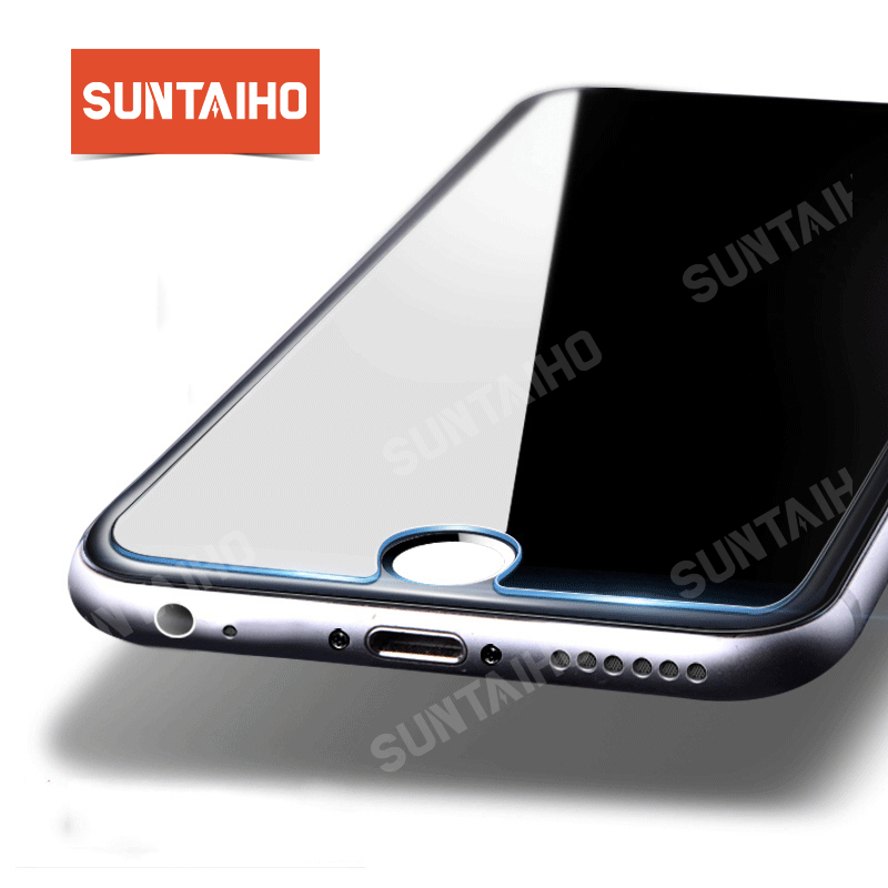 Suntaiho 2.5D 9H tempered glass For iphone XS XR XS MAX 7 plus 6s plus 0.2mm Screen protector for iPhone X 8 plus Glass Film