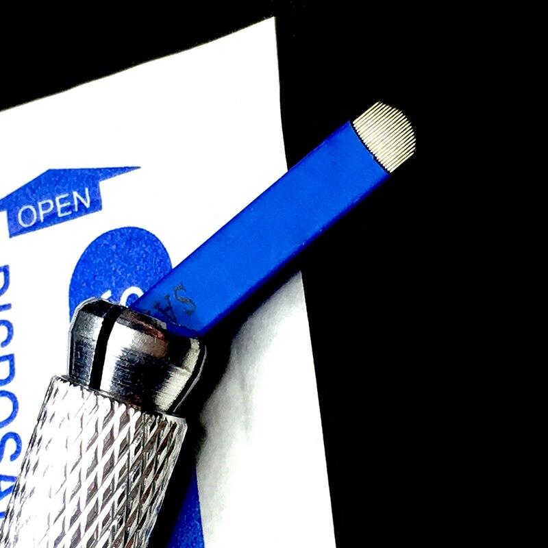 Beauty & Health Audacious 100 Pcs Tattoo Needles U 21 Pin Permanent Makeup Microblading Needle Blades For Eyebrow Manual Pen 3d Embroidery Tattoo & Body Art