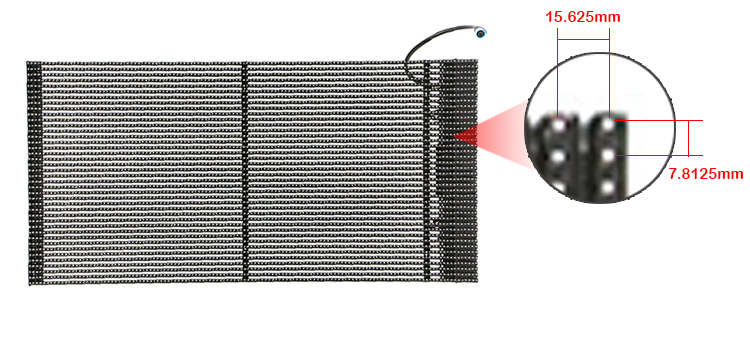 Ultra cienki panel led led reklamowy P15.625