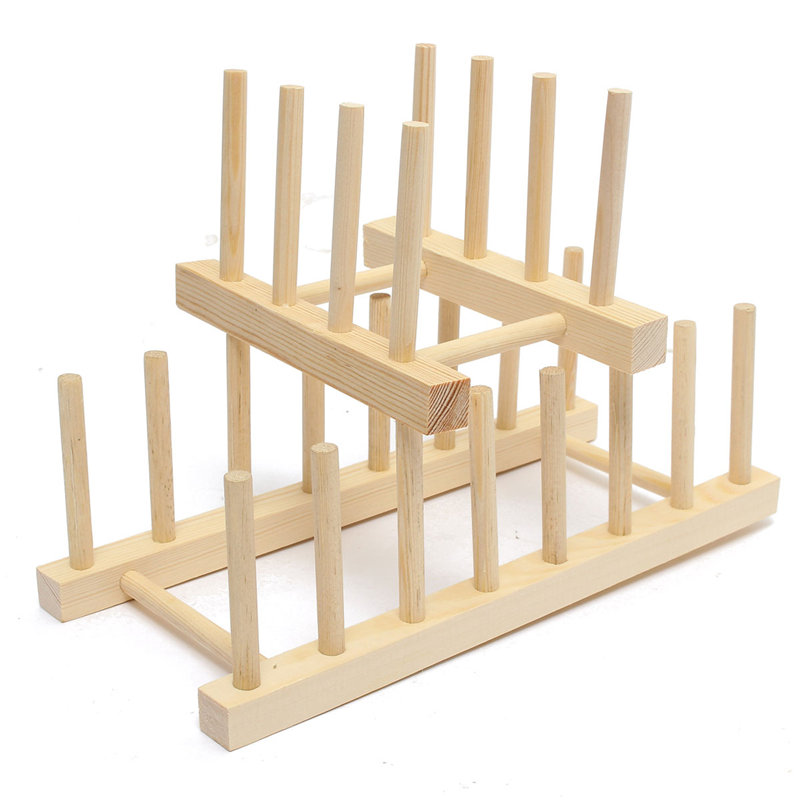 Wooden Display Stands For Plates Durable Healthy 40Size Wooden Dish Plate Sock Fold Rack Holder 27  sc 1 st  websiteformore.info & Wooden Display Stands For Plates New Wooden Drainer Plate Stand Wood ...