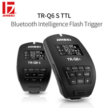 JINBEI TR-Q6 HSS TTL Trigger for Sony 2.4G Wireless Radio Studio Flash Transmitter Photography Lighting Remote Controller
