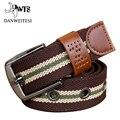 [Dwts] pin hebilla de cinturón de lona unisex militar Ejército cinturón táctico cinturón de moda para hombre hombres correa de alta calidad cinturones hombre