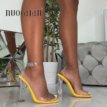Fashion Women Sandals Shoes Celebrity Wearing Simple Style P