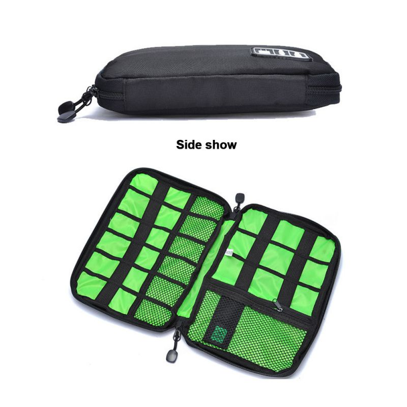 For Hard Drive Organizers For Earphone Cables USB Flash Drives Travel Case Digital Bag Outdoor Electronic