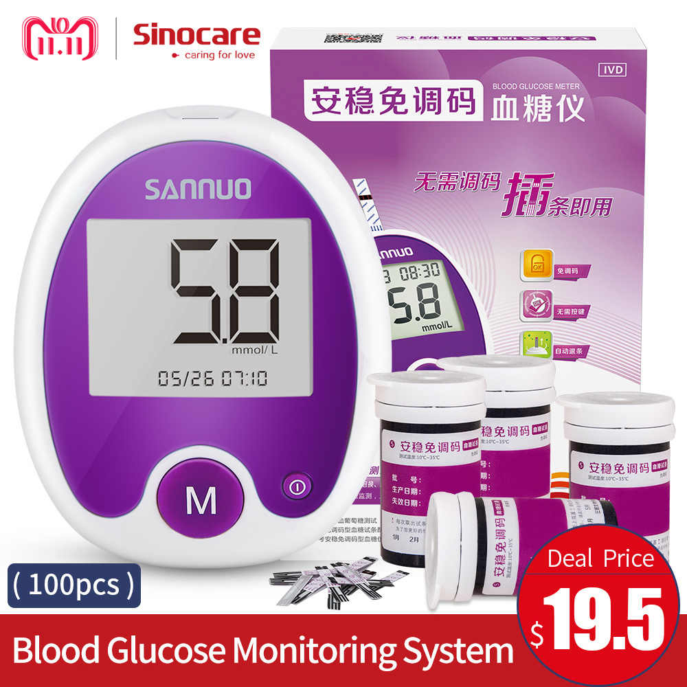 Free Blood Glucose Meter >> Detail Feedback Questions About Sinocare Anwen Code Free Blood Sugar