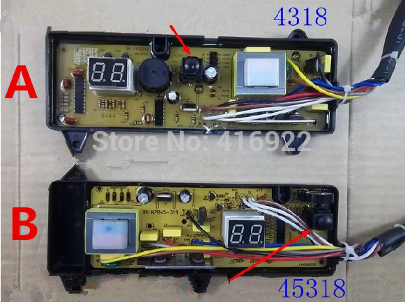 Free shipping 100% tested for JINLING washing machine board Computer board XQB45-308G XQB4318 NCXQ-318 XQB45-308 motherboard free shipping 100% tested for washing machine board xqb56 8856 original motherboard ncxq qs09fb on sale