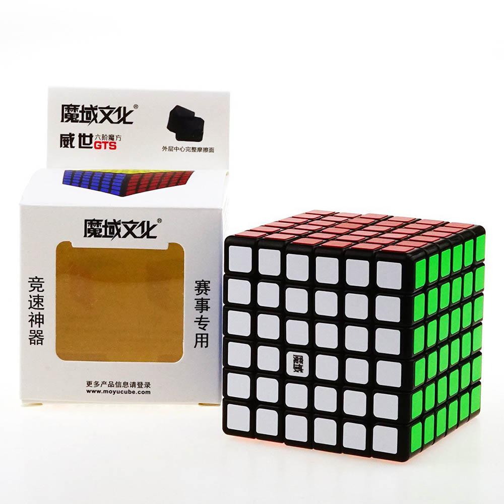 Moyu Weishi GTS 6*6*6 Magique Cubes Puzzle Vitesse Concurrence Cube Jouets Éducatifs Cadeaux pour les Enfants Enfants