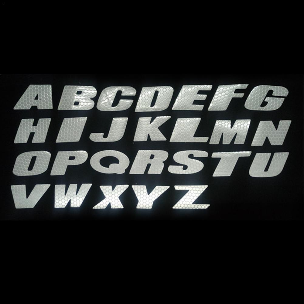 Car Decorative <font><b>Sticker</b></font> Wheel Reflective <font><b>Stickers</b></font> Motorcycle <font><b>Bike</b></font> Wheel Tire 3D <font><b>Stickers</b></font> English <font><b>Letters</b></font> Custom Decal image