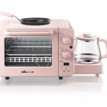 DSL-C02B1 медведь 3в1 бытовой Завтрак машина хлеб машина кофе жаровня машина для завтрака бытовая электрическая духовка 220-230-240v