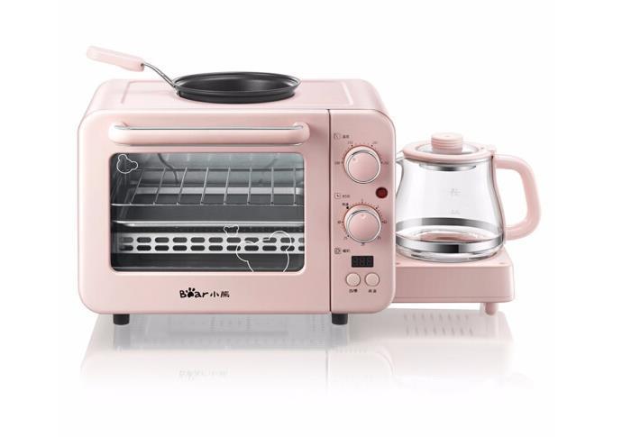 DSL C02B1 медведь 3в1 бытовая машина для приготовления хлеба кофе жаровня машина для завтрака бытовая электрическая духовка 220 230 240в Детали для прибора для приготовления завтрака «3 в 1»      АлиЭкспресс