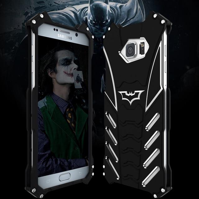 online store 3928c d08cb US $19.97 |Aliexpress.com : Buy Aluminum Iron Man Armor Batman Case For  Samsung Galaxy S10e S10 S9 S8 S7 S6 Edge Plus Note 9 8 5 Case Cover Phone  ...