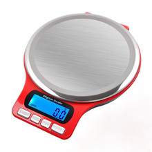 Digital Kitchen Scale 5kg Stainless Steel 3kg/0.1g High Precision Electronic Scale for Kitchen Baking Jewelry new portable milligram digital scale 30g x 0 001g electronic scale diamond jewelry pocket scale home kitchen