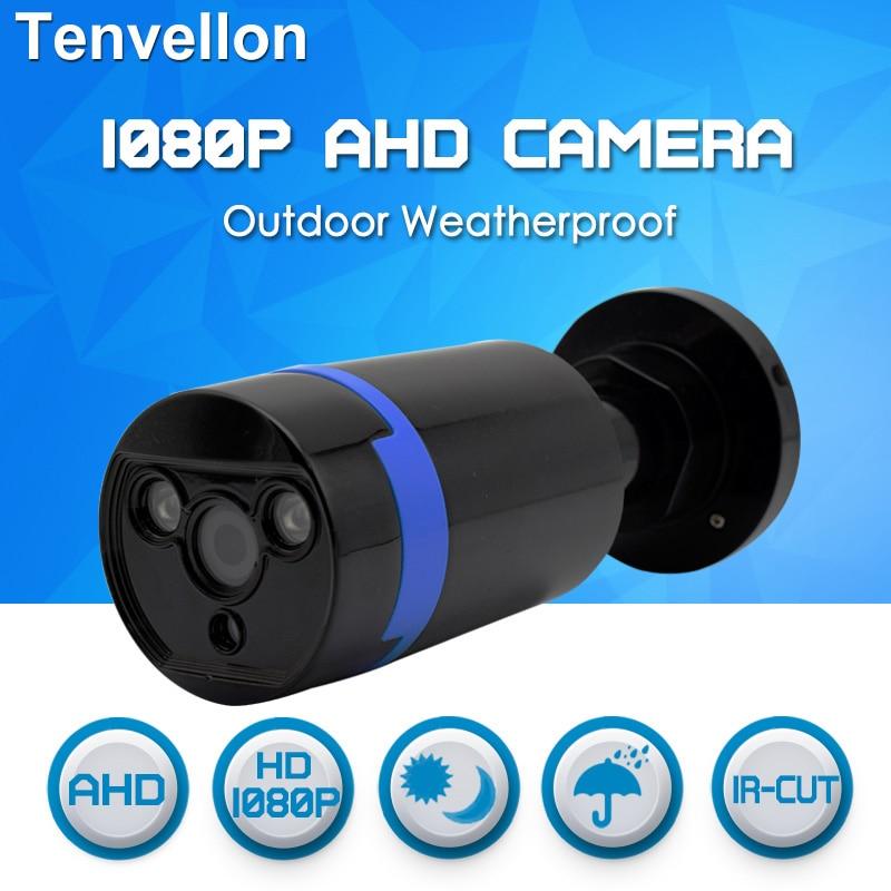 imágenes para CCTV AHD 1080 P CCTV Cámara de Vigilancia Exterior Impermeable Cámara con Leds IR Cut Filter 2.0MP AHD Visión Nocturna Al Aire Libre cámara