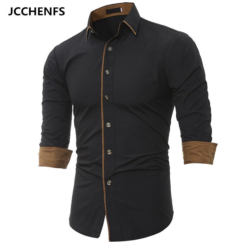 Men Business Shirt 2017 New Main Push Fashion Men S Shirts Long Sleeved Shirt Men S