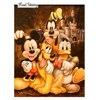 Cartoon Mickey Wholesale Diamond Painting Cross Stitch Diamond Embroidery Wedding Decoration Square Drill Christmas Gift RS221